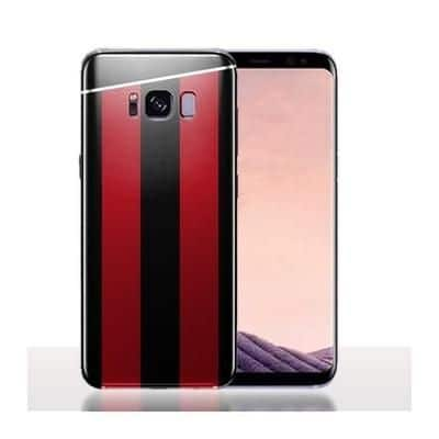 Coque Samsung S8 Club Foot Milan / Housse Silicone Maillot Football