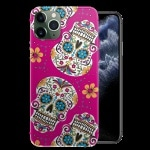 Coque iPhone 11 Skull Rose / Motif Tête de Mort / iPHONE 11 PRO, PRO MAX