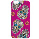 Calavera Rose - Coque iPhone 7, iPhone 8 - Silicone, Plexiglass