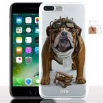 Bulldog Aviateur - Coque iPhone 7 Plus