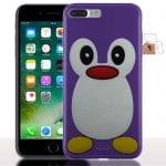 Achat Coque iPhone 7 Plus Pingouin Violet