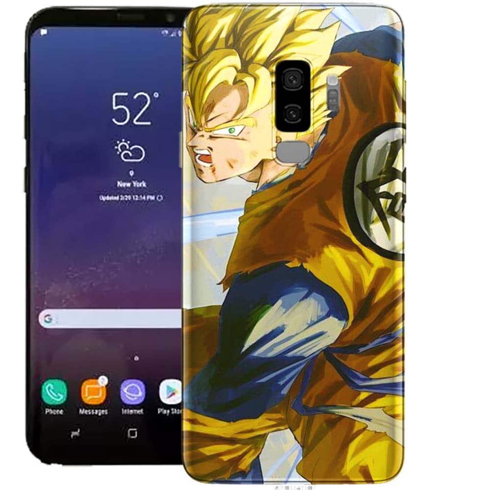 Coque Samsung S9 Dragon Ball Z Son Gohan | Tpu Verre Trempé