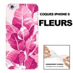 Achat Coques pour iPhone 6 personnalisées Motifs Fleurs