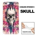 Achat Coque iPhone 6 Motifs Skull
