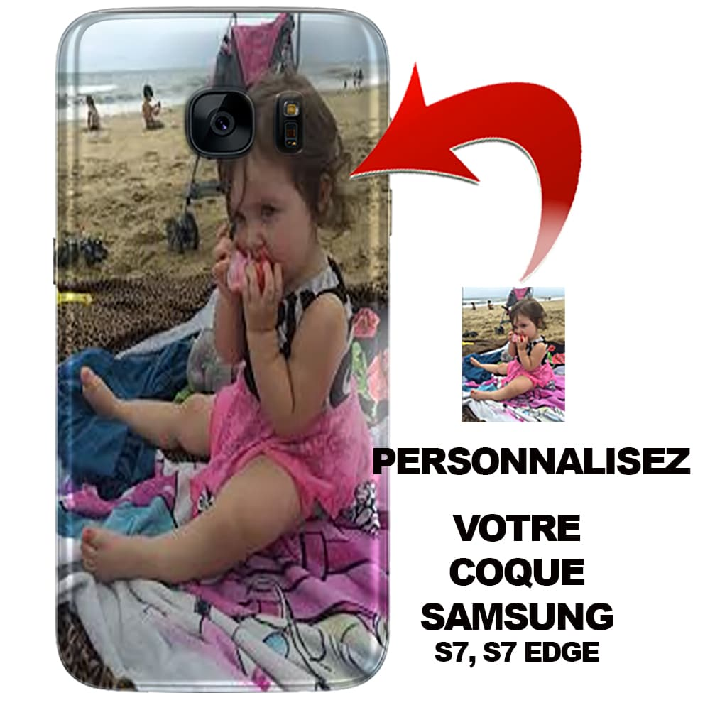 coque samsung s7 edge personnalisable