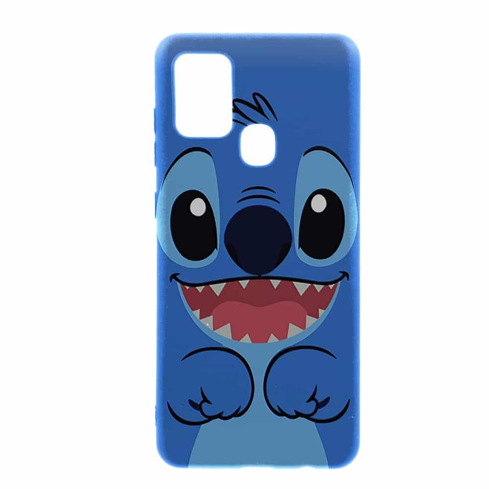 Coque Stitch Face Samsung A21s | Silicone | Dessin Animé