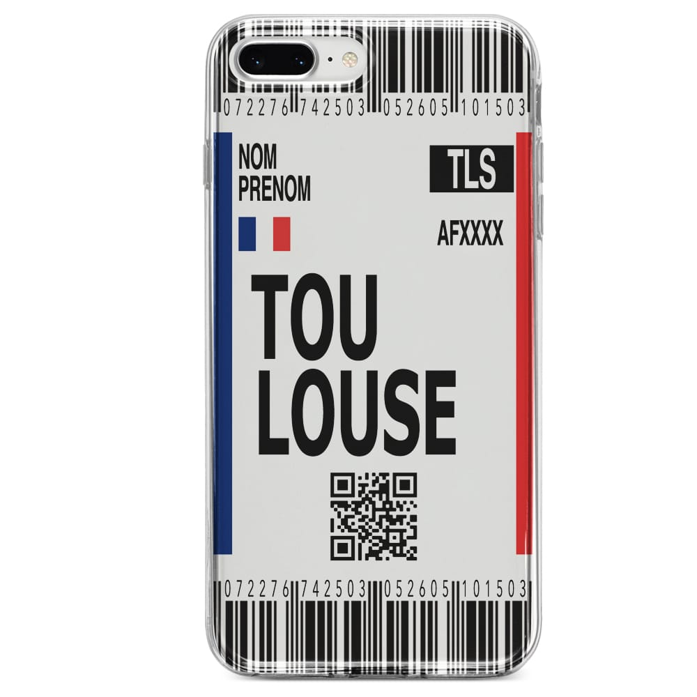Coque Voyage a Toulouse iPhone SE 2020 | Customise Ta Coque