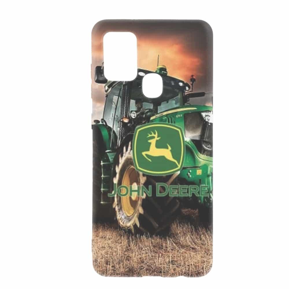 Coque pour Samsung A21S John Deer Tractor Farm