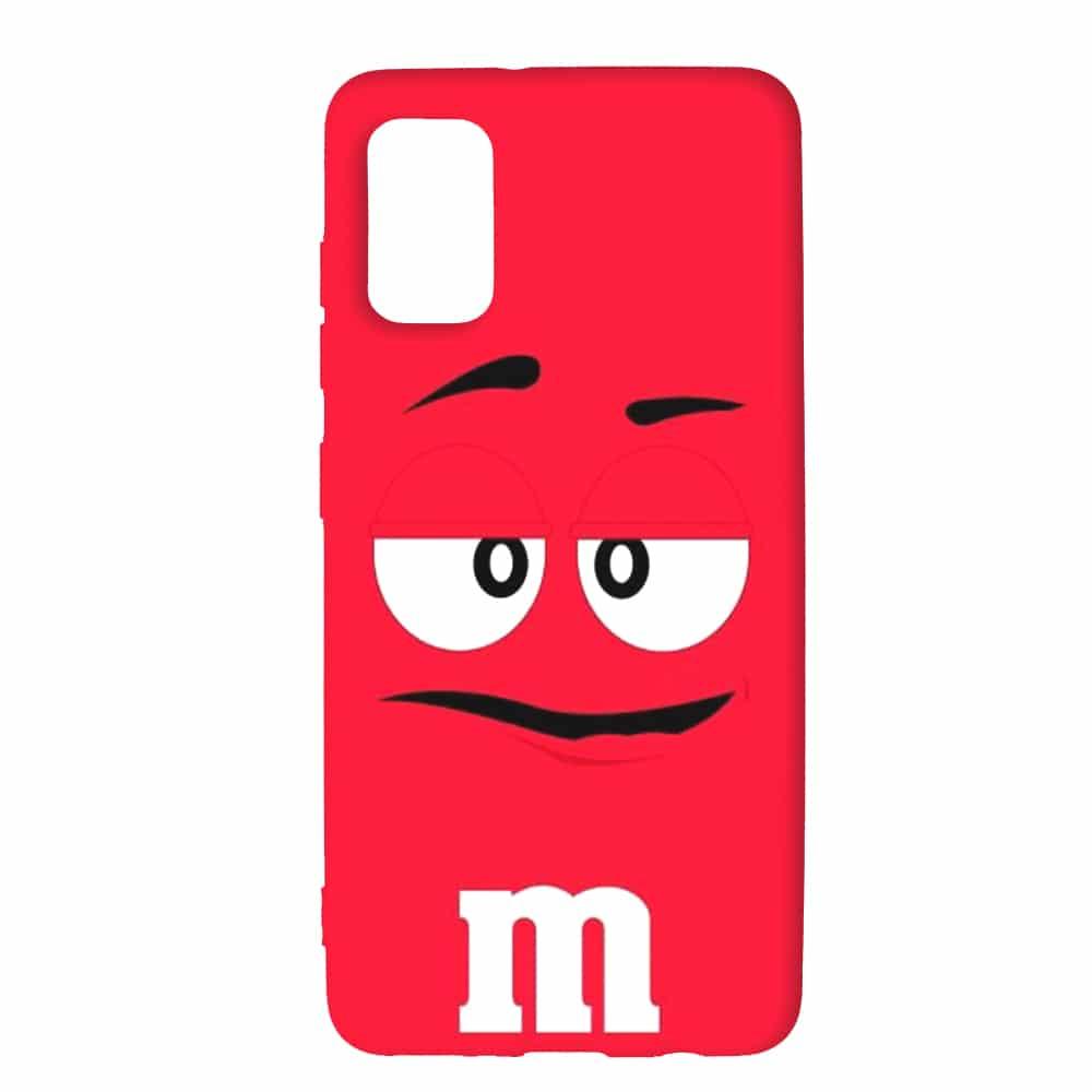 Coque pour Samsung A41 M&M's Rouge   SM A415