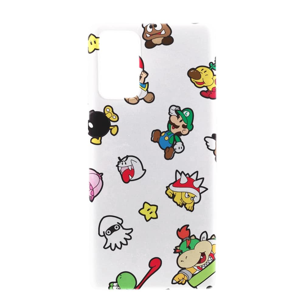 Coque Samsung Note 20 Super Mario | Collection Gamer