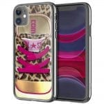 Coque All Star Leopard pour iPhone, Samsung, Huawei