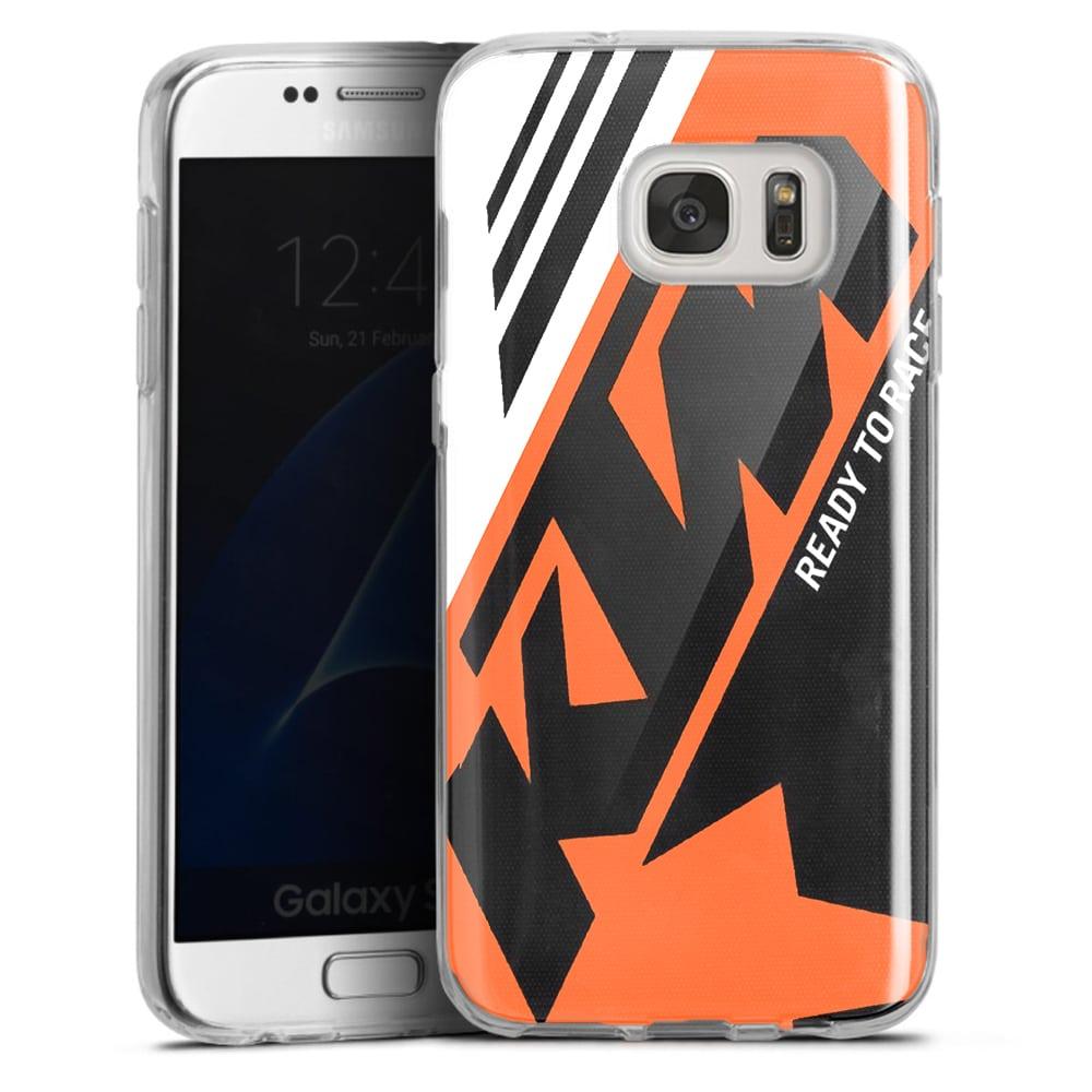 Coque Samsung S7 KTM Racing Orange And Black | S7 Edge