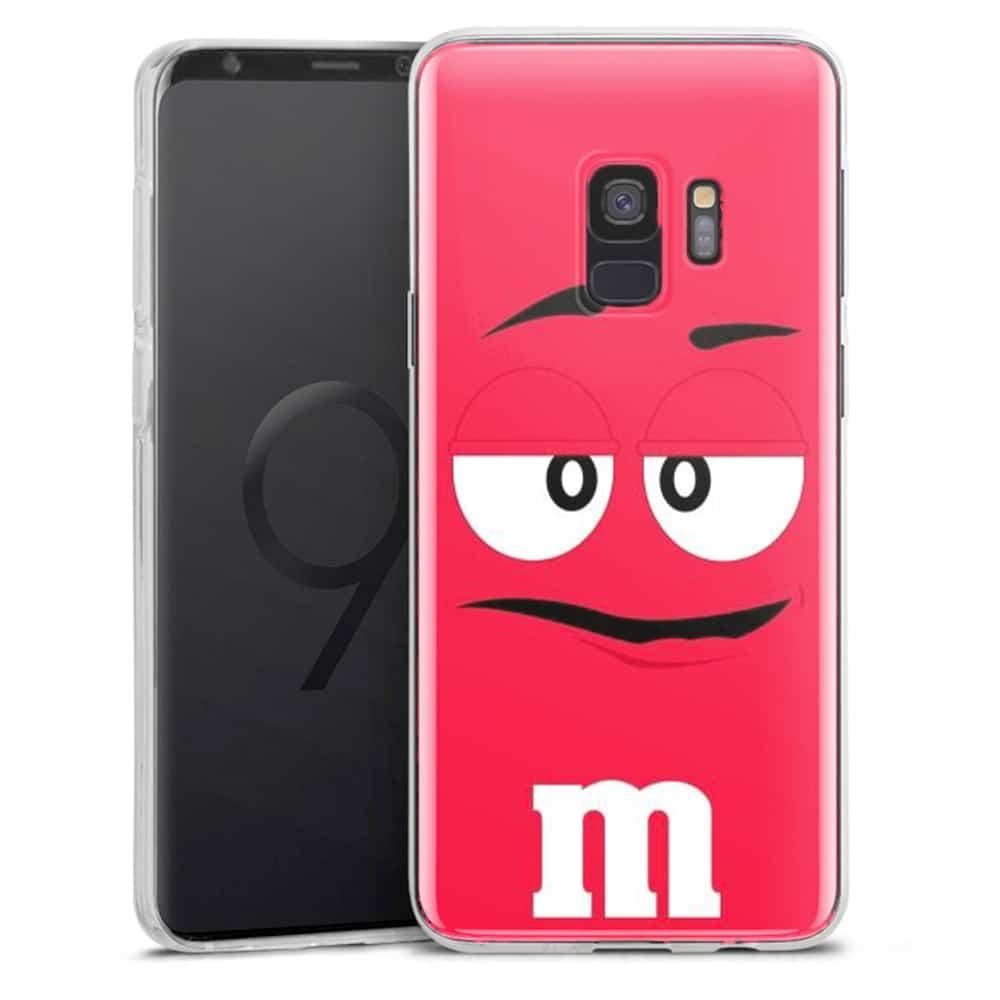 Coque Samsung S9 M&M's Rouge | S9 Plus | Silicone | Verre