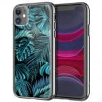Coque Feuillage Tropical pour tel portable iPhone, Samsung, Huawei