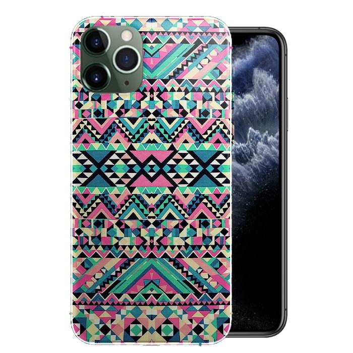 Coque Azteque Turquoise pour smartphones iPhone 12