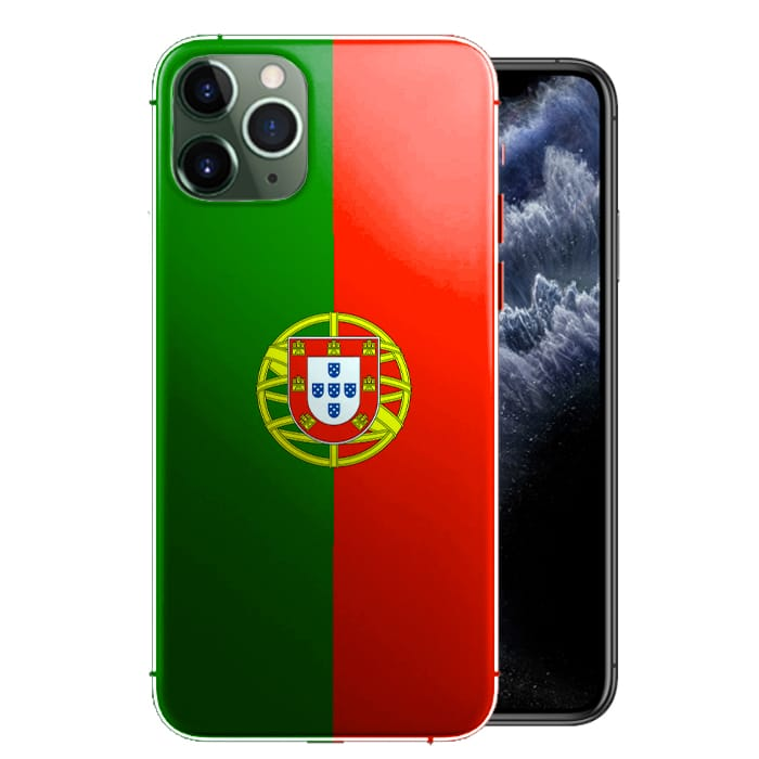 Coque Drapeau Portugal iPhone 12, iPhone 12 MAX, iPhone 12 PRO, iPhone 12 PRO MAX