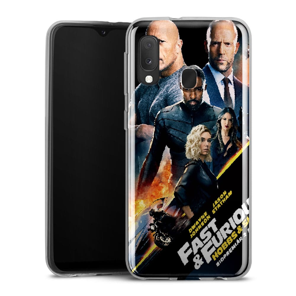 Coque Samsung A20E Fast and furious hobbs and shaw