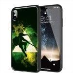 Coque Zelda pour iPhone XR en Verre Trempé