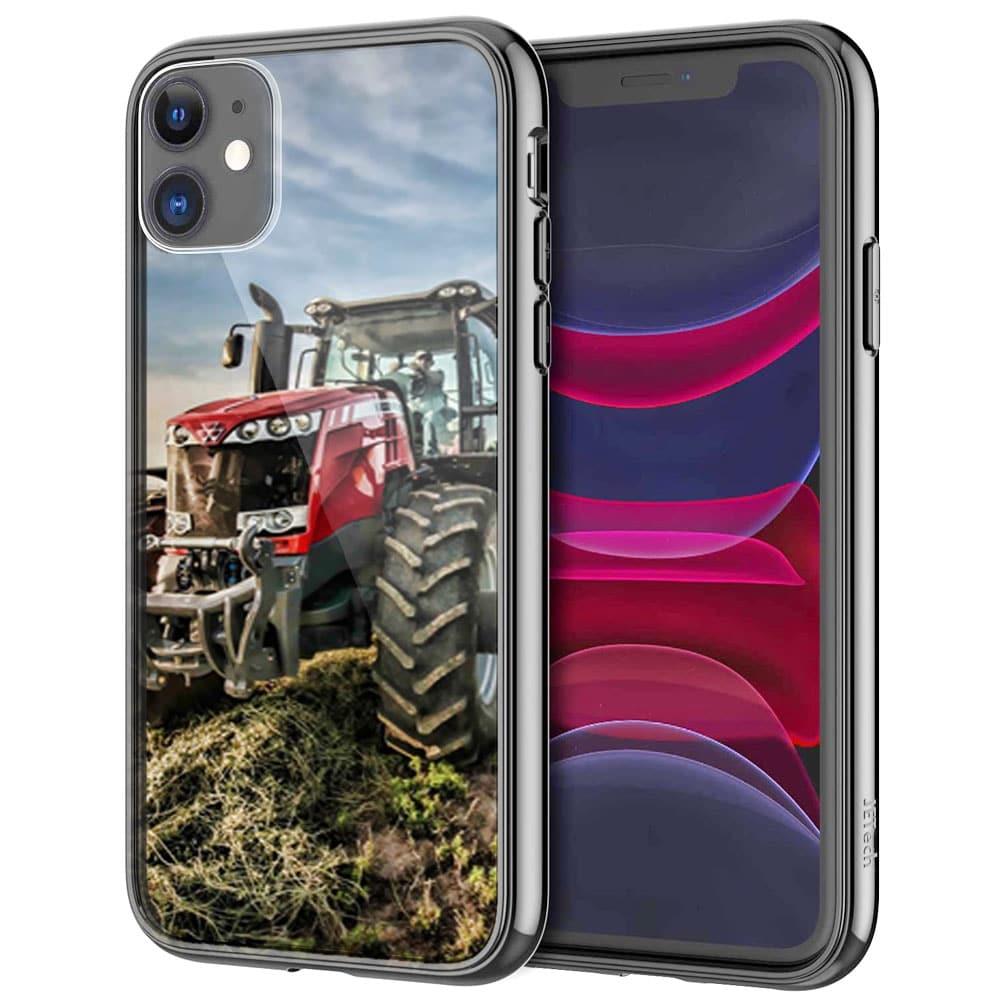 Coque iPhone 11 PRO MAX Massey Fergusson Tractor