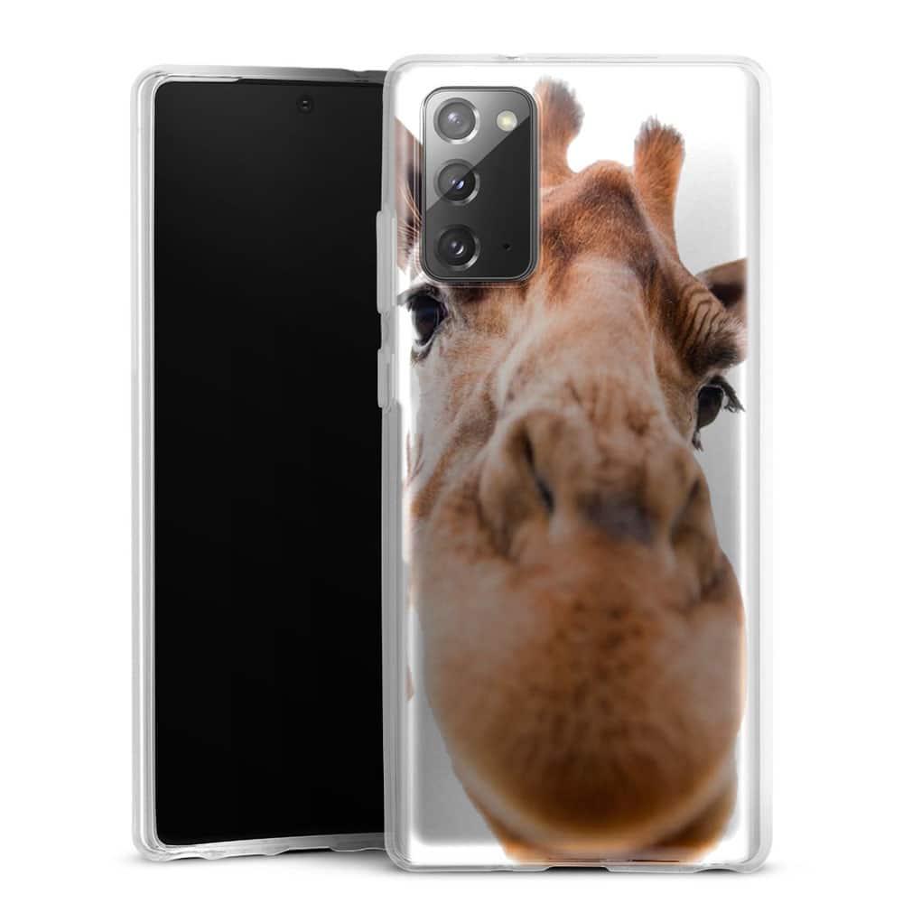 Coque Samsung Galaxy Note 20 Drôle Girafe