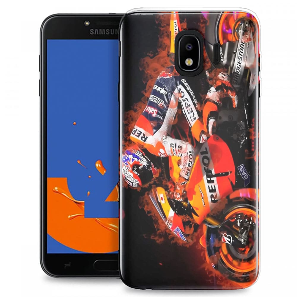 Coque Telephone Samsung J4 2018 originale Honda Moto